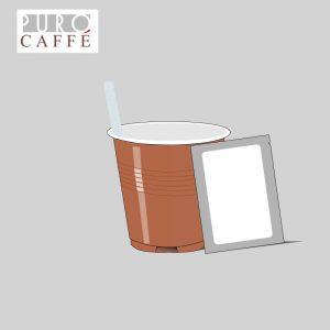 kit paletta zucchero bicchierino logo