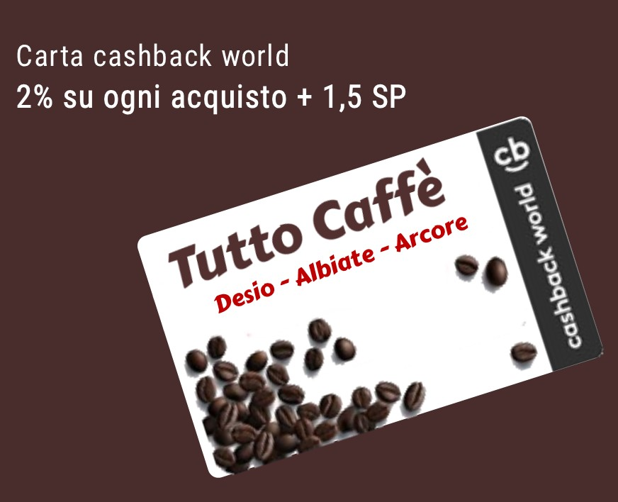 Tutto Caffe Box Cash Back