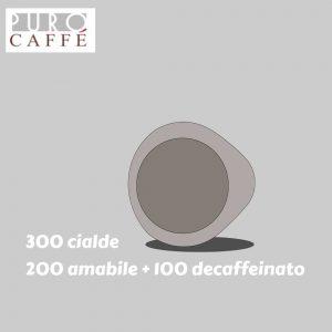 300 Puro Caffe Cialda Carta