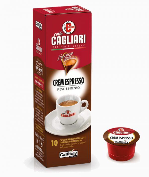 Caffitaly Cagliari crem capsule caffe