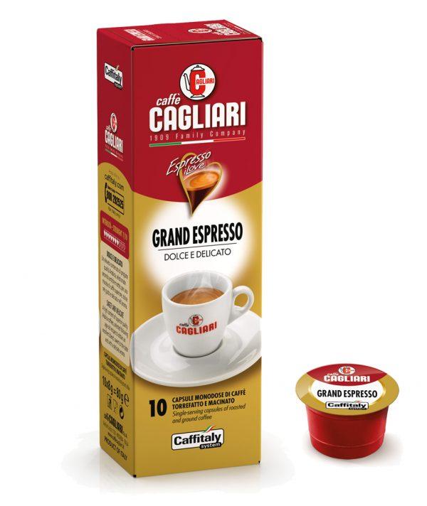 Caffitaly Cagliari grand capsule caffe